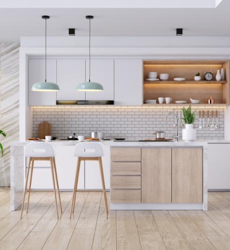 a kitchen at the huxley minneapolis